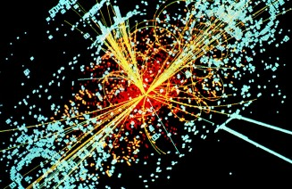Imatge de l'experiment ALAS, del Gran Col·lisionador d'Hadrons del CERN