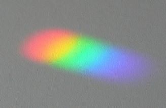 Descomposició de la llum blanca