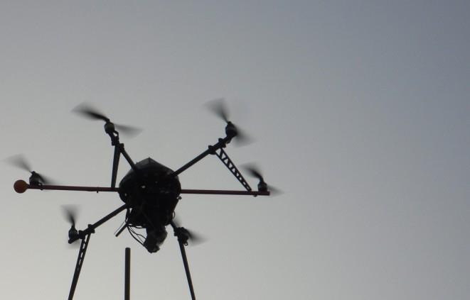 Imatge d'un dron