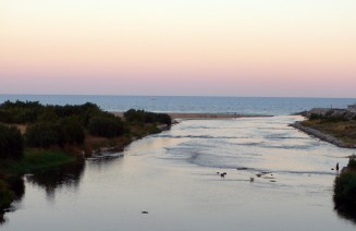 Imatge del riu Besòs