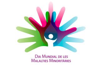 Logo del dia de les malalties rares minoritàries