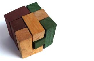 Imatge de soma, un dels trencaclosques que integren l'exposició.