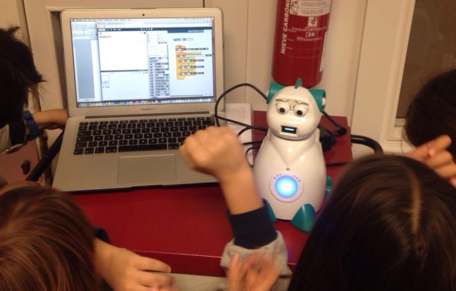Imatge del curs de robòtica per a professors