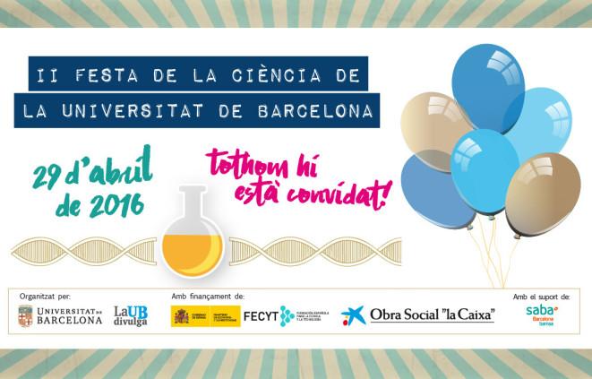 Cartell de la Festa de la Ciència UB