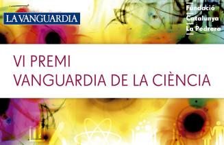 cartell del Premi Vanguardia de la Ciència