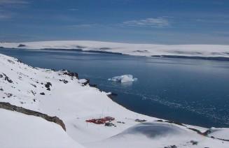 Imatge de la base antàrtica des d'on es fa ciència a l'antàrtida