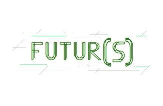 Logo del cicle de conferències Futur(s)