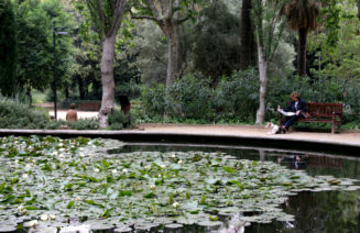 Imatge dels jardins del Turó Park de Barcelona