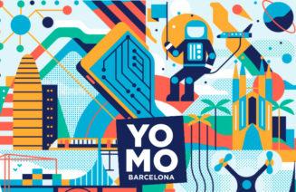 Detall del cartell del YoMo Festival