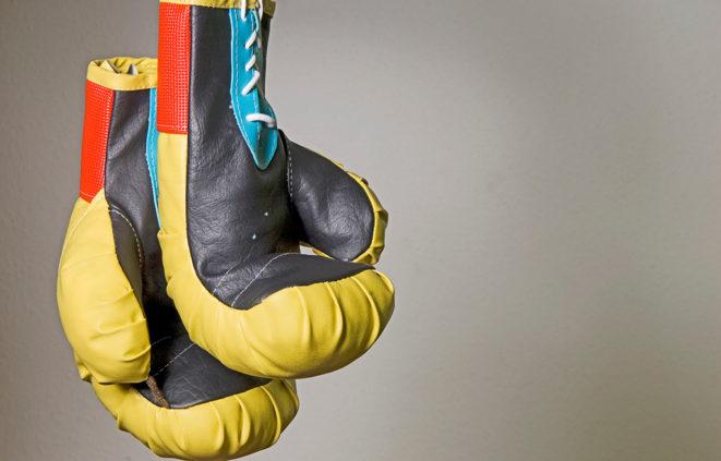 Imatge d'uns guants de boxa