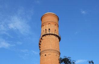 Imatge de la Torre de les Aigües del Besós, a Selva de Mar